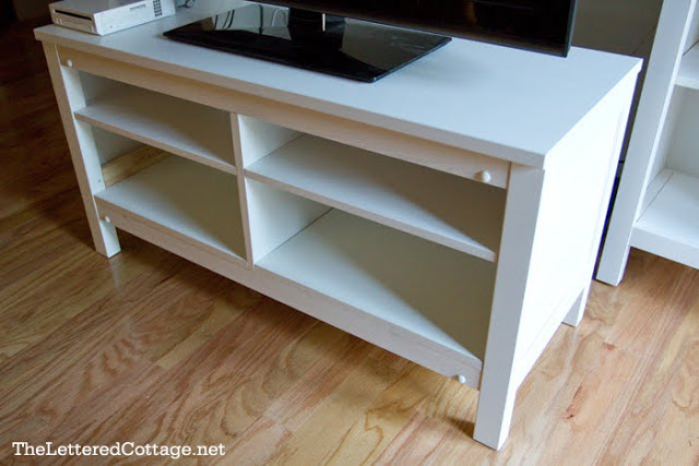 Hemnes Tv Stand Adding Shelves Ikea Hackers Ikea Hackers