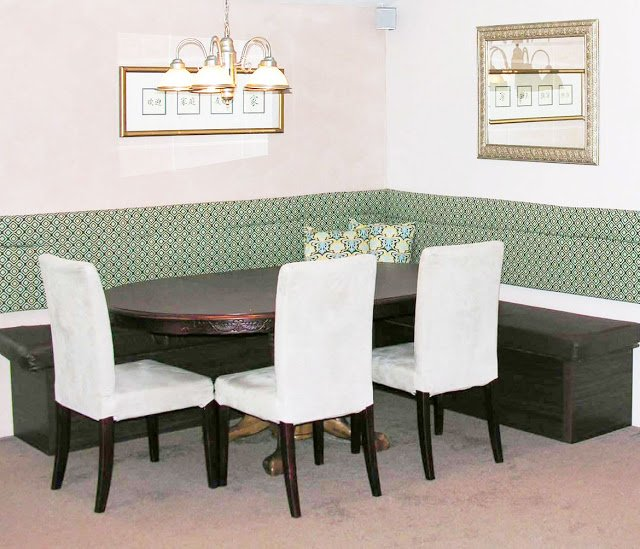 Custom Dining Booth From Bookcases Ikea Hackers Ikea