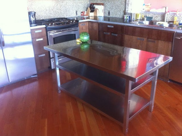 Stainless Steel Kitchen Island Cart Amazing Design