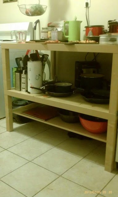 Lack Kitchen Shelving Unit Island Ikea Hackers Ikea Hackers