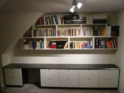 office storage from kitchen and bath units ikea hackers