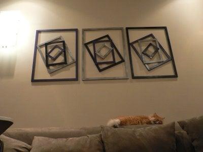 ram frames wall art ikea hackers