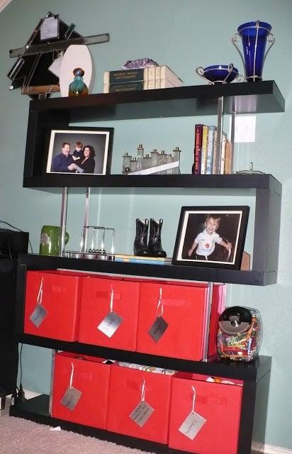 Zig Zag Lack Shelf Bookcase Ikea Hackers Ikea Hackers
