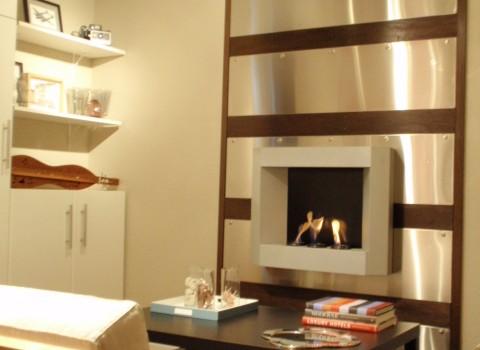 Udden Stainless Steel Fireplace Wall Ikea Hackers Ikea