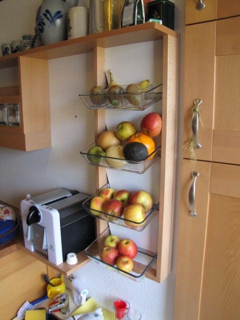 Fruit Shelf Ikea Hackers