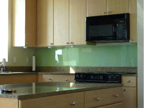 Back painted glass backsplash ikea hackers ikea hackers - Glass wall panels kitchen ...