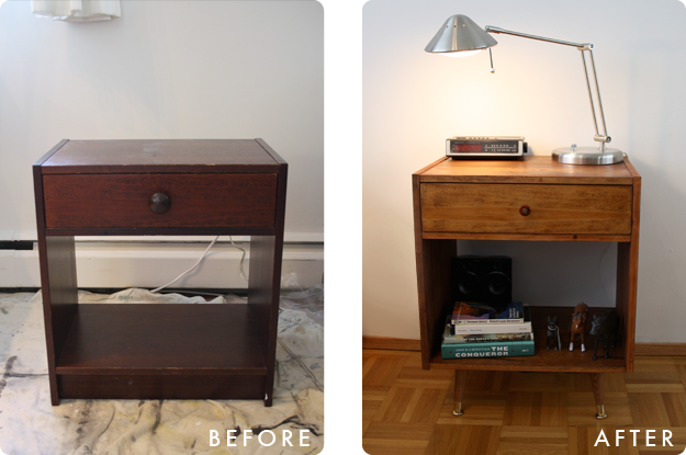 Childhood nightstand goes mid century ikea hackers childhood nightstand goes mid century watchthetrailerfo