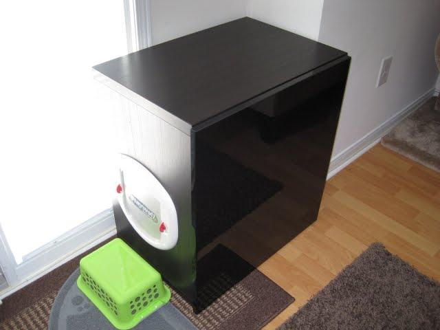 Quot Tr 232 S Chic Quot Kitty Litter Bin Obscurer Ikea Hackers