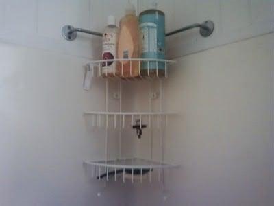 Bygel Hanging Shower Rack Hack Ikea Hackers