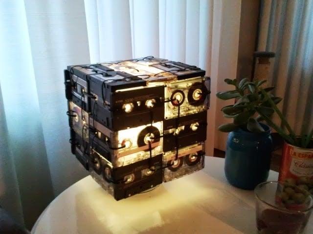 Cassette Tape Lamp Ikea Hackers Ikea Hackers