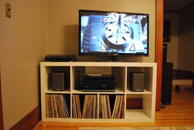 Easy Expedit Entertainment Ikea Hackers