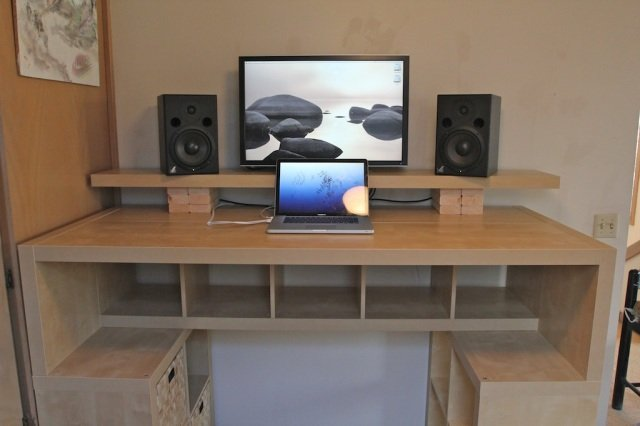 Awesome Expedit Standing Desk Amazing Ideas