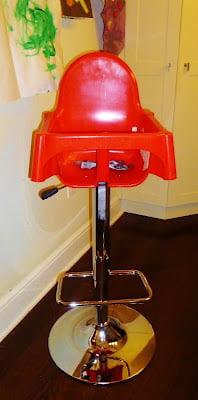 Superbe Kitchen Island Height Highchair (bar Stool Height)