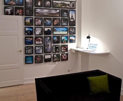 Photo Wall Done Riktig Ikea Hackers Ikea Hackers