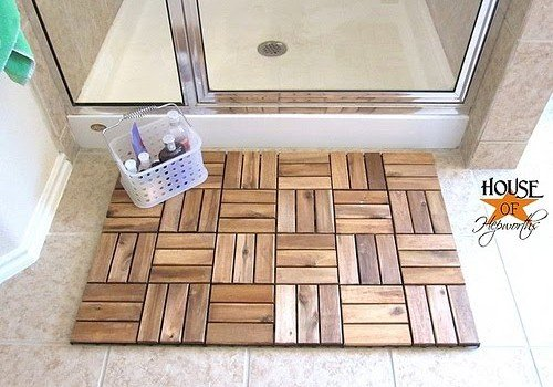 Spa Bath Mat From Ikea Outdoor Decking Ikea Hackers