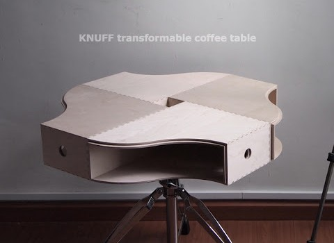 we have it the knuff transformable coffee table is the ikea hack of 2012 ikea hackers ikea. Black Bedroom Furniture Sets. Home Design Ideas