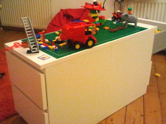 Malm Lego Play Table Ikea Hackers Ikea Hackers