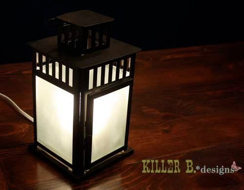 Borrby Lantern Lamp From Grono Disaster