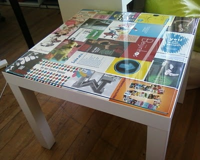 Lack spring table ikea hackers ikea hackers - Customiser une table en bois ...