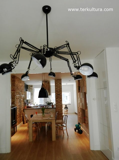 spider lamp from fors ikea hackers ikea hackers. Black Bedroom Furniture Sets. Home Design Ideas