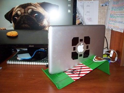 Macbook Pro Vertical Stand Ikea Hackers Ikea Hackers
