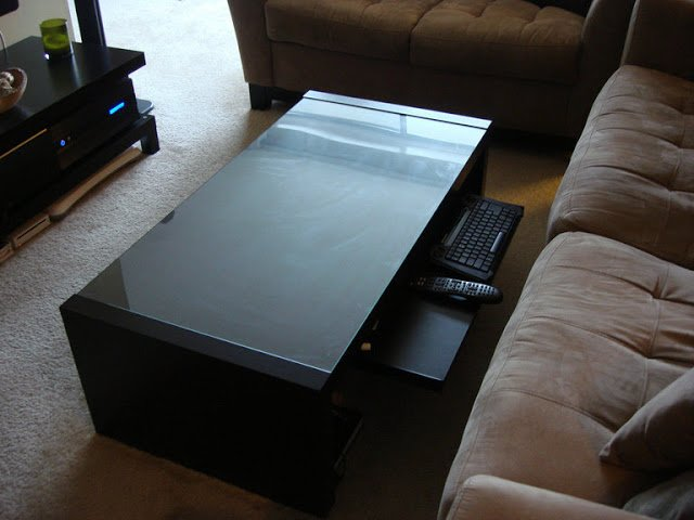 Home Theater Coffee Table Ikea Hackers Ikea Hackers