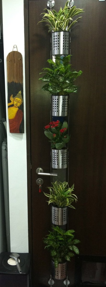 Vertical Garden For Small Plants Or Herbs Ikea Hackers