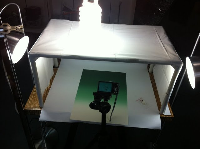 Photography light tent from laundry bin and shower curtain ikea hackers i - Lit retractable ikea ...