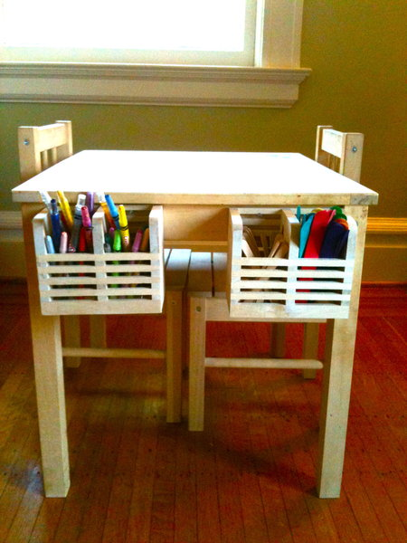 Beau SVALA Kids Art Table With Storage