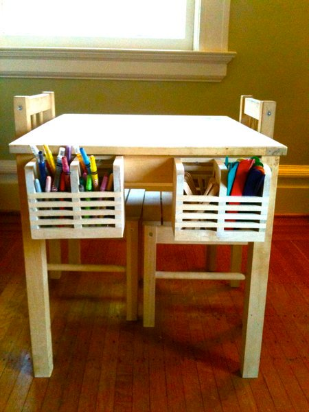 Svala Kids Art Table With Storage Ikea Hackers Ikea