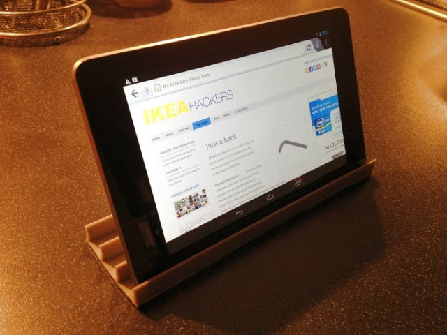 Restlet A Low Cost Ikea Tablet Or Smartphone Stand