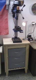 drilling machine table ikea hackers ikea hackers. Black Bedroom Furniture Sets. Home Design Ideas