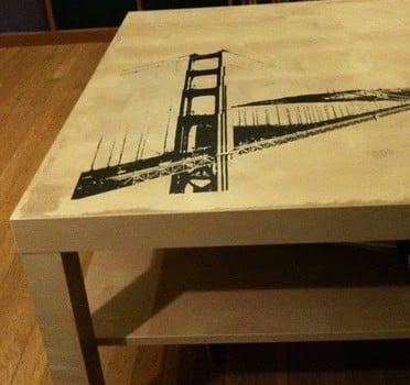 Golden Gate Coffee Table Ikea Hackers Ikea Hackers