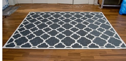 Superb Materials: EGEBY Rug , Gray And White Paint, Several Brushes