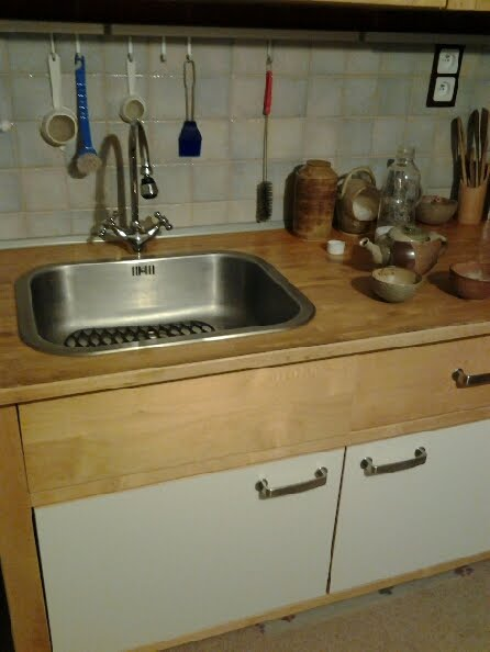 Varde counter drawer hacked by kitchen sink - IKEA Hackers