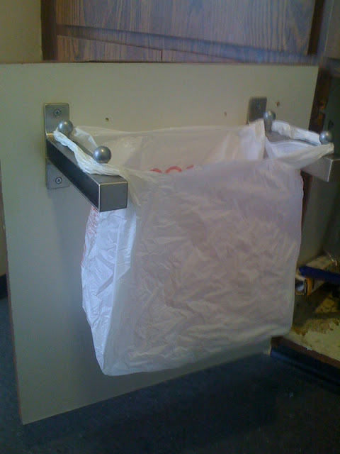 Undersink Rubbish Bin Like Hanger Thingy Ikea Hackers