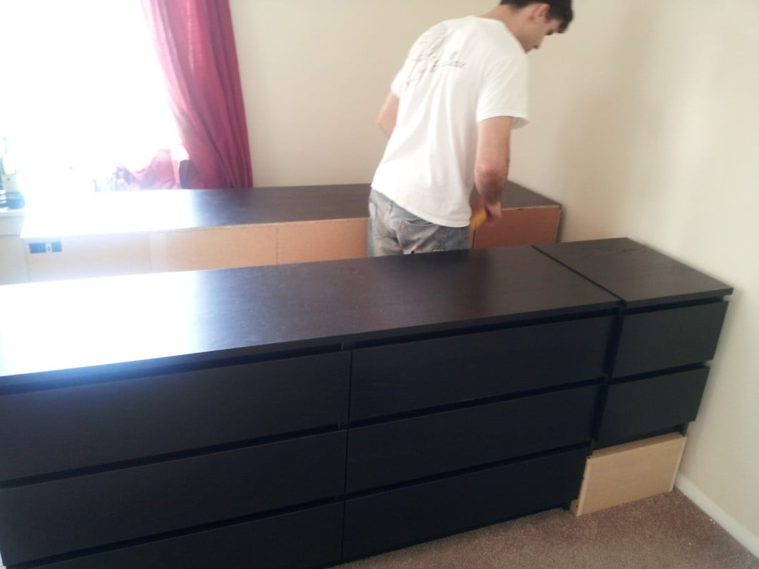 Bed Frame With Lots Of Storage Ikea Hackers