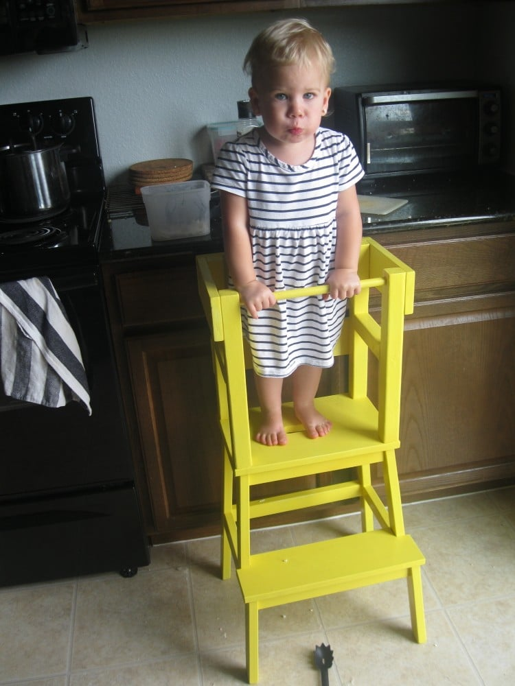 BEKVAM Step Stool Kids Learning Tower