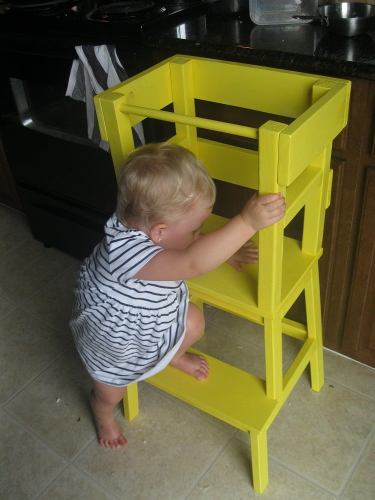 DIY Learning Tower IKEA BEKVÄM Step Stool