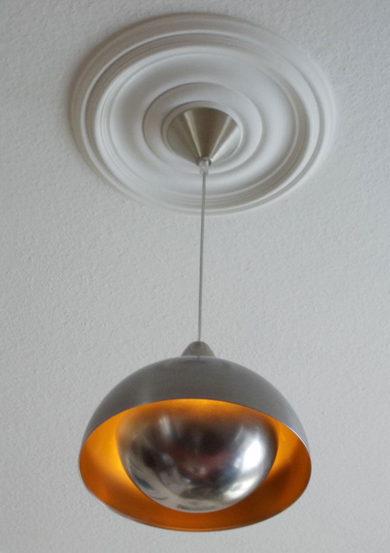 A blanda blank flying saucer lamp ikea hackers a blanda blank flying saucer lamp arubaitofo Images