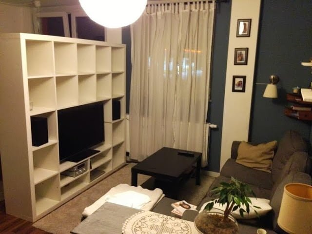 Turn Your Expedit 5x5 Into A Tv Center Ikea Hackers