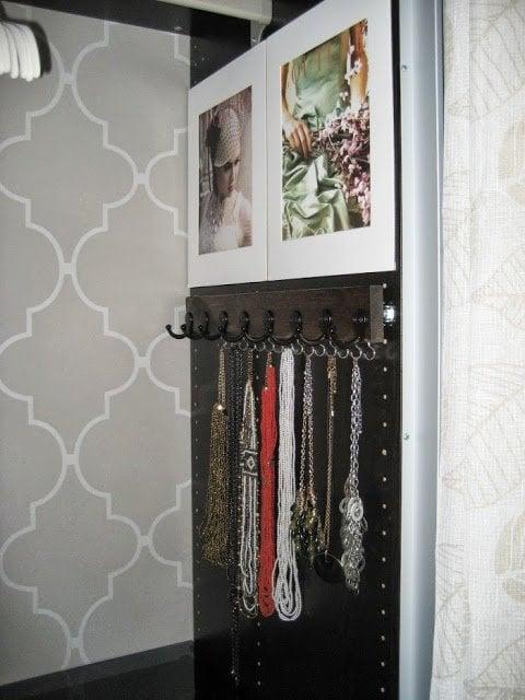 Pax Wardrobe Jewelry Organizer Ikea Hackers