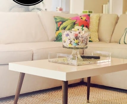 Lack Turned Mid-Century Modern Coffee Table - IKEA Hackers - IKEA