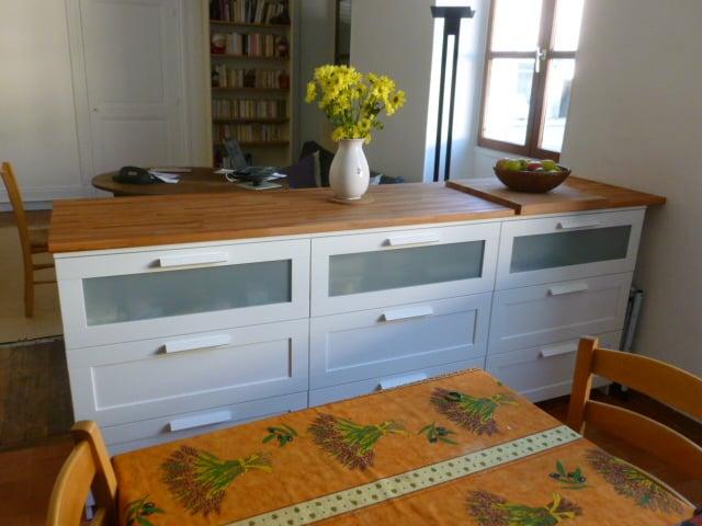 bar table ikea hackers ikea hackers. Black Bedroom Furniture Sets. Home Design Ideas