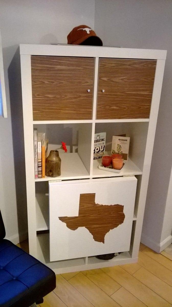 EXPEDIT drop leaf table: Texas style - IKEA Hackers - IKEA Hackers
