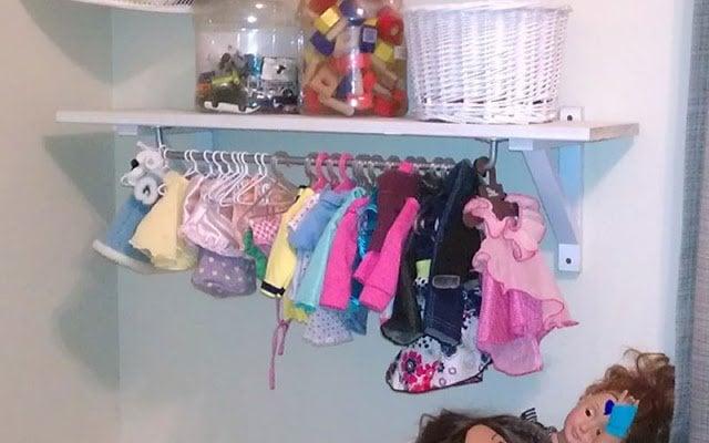 Petite Wardrobe For Dolls Ikea Hackers