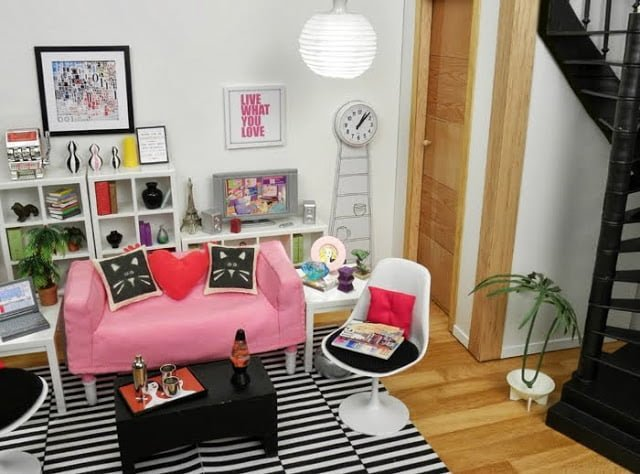 . HUSET doll furniture  Little Things Matter   IKEA Hackers