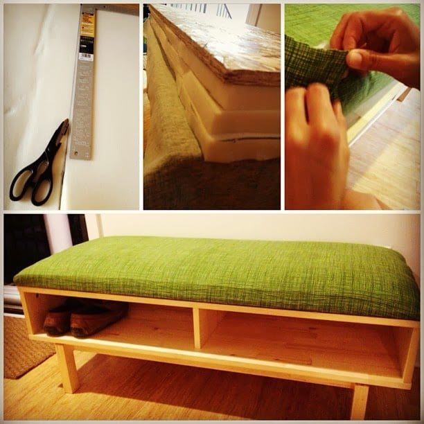 Shoe Bench from IKEA Entertainment Center
