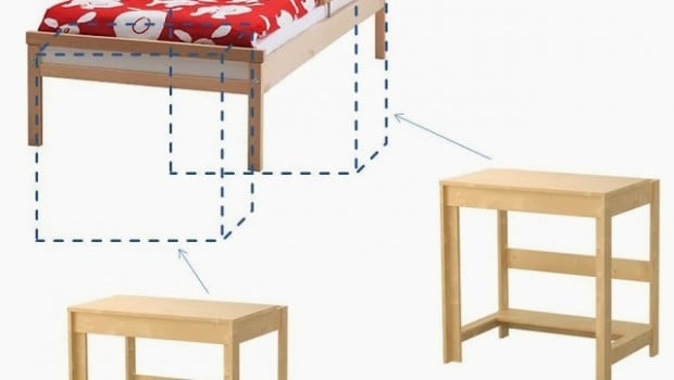 how to cut the legs on a loft bed