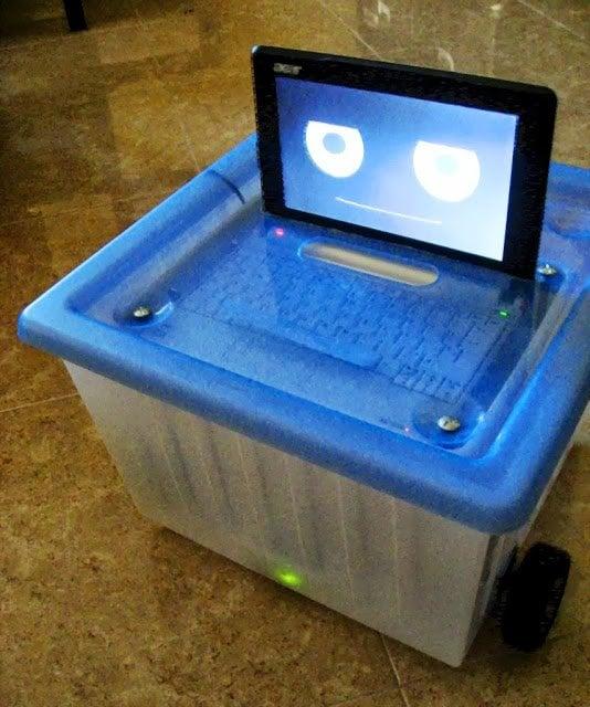 minidron cute telecontrol robot ikea hackers ikea hackers. Black Bedroom Furniture Sets. Home Design Ideas